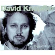 Click here for more info about 'David Knopfler - Forty Days And Forty Nights / Deptford Days'