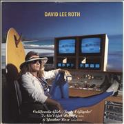 Click here for more info about 'David Lee Roth - California Girls - P/s'