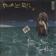 """David Lee Roth Crazy From The Heat USA 12"""" vinyl"""