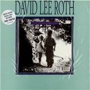 "David Lee Roth Damn Good + Poster UK 7"" vinyl"
