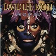 David Lee Roth Eat 'Em And Smile UK vinyl LP