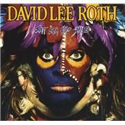David Lee Roth Eat 'Em And Smile USA vinyl LP