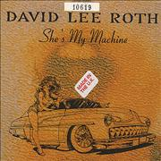 Click here for more info about 'David Lee Roth - She's My Machine'
