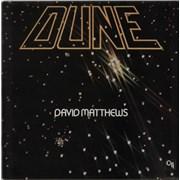 David Matthews Dune UK vinyl LP