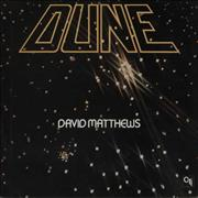David Matthews Dune USA vinyl LP
