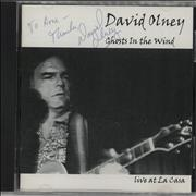 Click here for more info about 'David Olney - Ghosts In The Wind - Autographed'