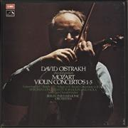 Click here for more info about 'David Oïstrakh - Mozart Violin Concertos 1-5'
