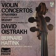 Click here for more info about 'David Oïstrakh - Violin Concertos — Concerto In D Major / Concerto In B Flat Major'