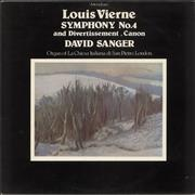 Click here for more info about 'David Sanger - Louis Vierne: Symphony No. 4 / Pièces En Style Libre'