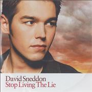 Click here for more info about 'David Sneddon - Stop Living The Lie'