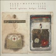 Click here for more info about 'David Sylvian - Flux + Mutability - EX'