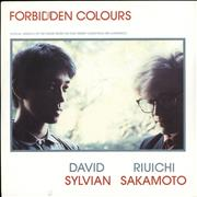 Click here for more info about 'David Sylvian - Forbidden Colours - Matt Sleeve'