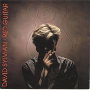 "David Sylvian Red Guitar UK 7"" vinyl"