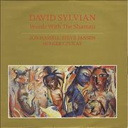 "David Sylvian Words With The Shamen UK 12"" vinyl"