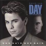 Click here for more info about 'David Van Day - She Said She Said'