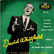 Click here for more info about 'David Whitfield - David Whitfield No.3 EP'
