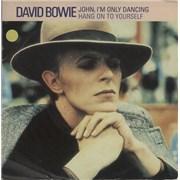 "David Bowie John, I'm Only Dancing UK 7"" vinyl"