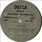 Click here for more info about 'Davie Jones & The Kingbees - Liza Jane - Acetate'