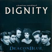 Click here for more info about 'Deacon Blue - Dignity - 2nd Issue - Glossy Sleeve'