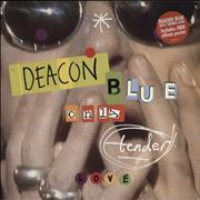 Click here for more info about 'Deacon Blue - Only Tender Love + Poster'