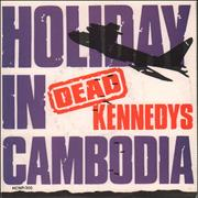Click here for more info about 'Dead Kennedys - Holiday In Cambodia - Plane P/s'