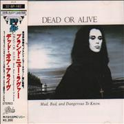 Dead Or Alive Mad, Bad, And Dangerous To Know + Obi Japan CD album