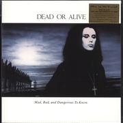 Click here for more info about 'Dead Or Alive - Mad, Bad, And Dangerous To Know - White & Clear Vinyl + Numbered - Sealed'