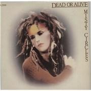 """Dead Or Alive Misty Circles UK 7"""" vinyl"""