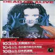 Dead Or Alive Rip It Up - Japanese Tour Japan poster Promo