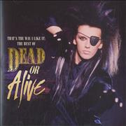 Click here for more info about 'Dead Or Alive - That's The Way I Like It: The Best Of - Sealed'