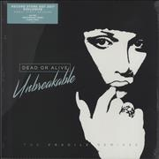 Dead Or Alive Unbreakable (The Fragile Remixes) - Clear Vinyl - RSD 17 - Sealed UK 2-LP vinyl set