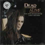 Click here for more info about 'Dead Or Alive - You Spin Me Round - White vinyl'