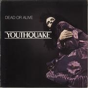 Click here for more info about 'Dead Or Alive - Youthquake - Promo Stamped Sleeve'