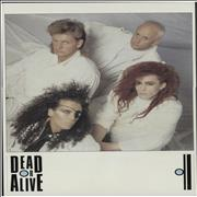 Dead Or Alive Youthquake UK poster Promo