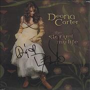Click here for more info about 'Deana Carter - The Story Of My Life - Autographed'