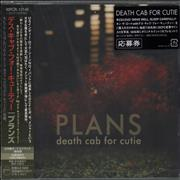 Click here for more info about 'Death Cab For Cutie - Plans + Obi - Sealed'