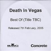 Click here for more info about 'Death In Vegas - Best Of'