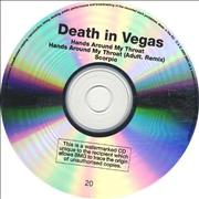 Click here for more info about 'Death In Vegas - Hands Around My Throat'