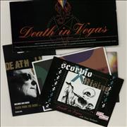 Click here for more info about 'Death In Vegas - Quantity of Five Mailshot Postcards'