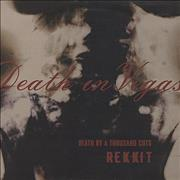 Click here for more info about 'Death In Vegas - Rekkit - Death By A Thousand Cuts'