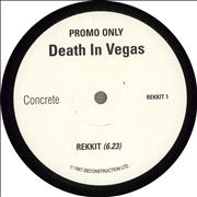 Click here for more info about 'Death In Vegas - Rekkit'