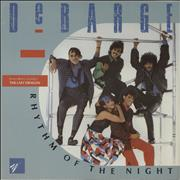 Click here for more info about 'Debarge - Rhythm Of The Night - p/s'