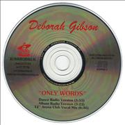 Click here for more info about 'Debbie Gibson - Only Words'