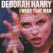 Click here for more info about 'Debbie Harry - I Want That Man - Paper Labels'