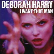 Click here for more info about 'Debbie Harry - I Want That Man - Injection Labels'