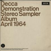 Click here for more info about 'Decca - Decca Demonstration Stereo Sampler Album April 1964'