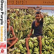 Deep Purple Bananas Japan CD album Promo