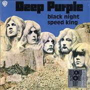 Click here for more info about 'Deep Purple - Black Night - RSD15 - Blue Vinyl'