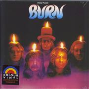Click here for more info about 'Deep Purple - Burn - Orange Vinyl - Sealed'