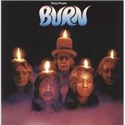 Deep Purple Burn - Purple Vinyl UK vinyl LP